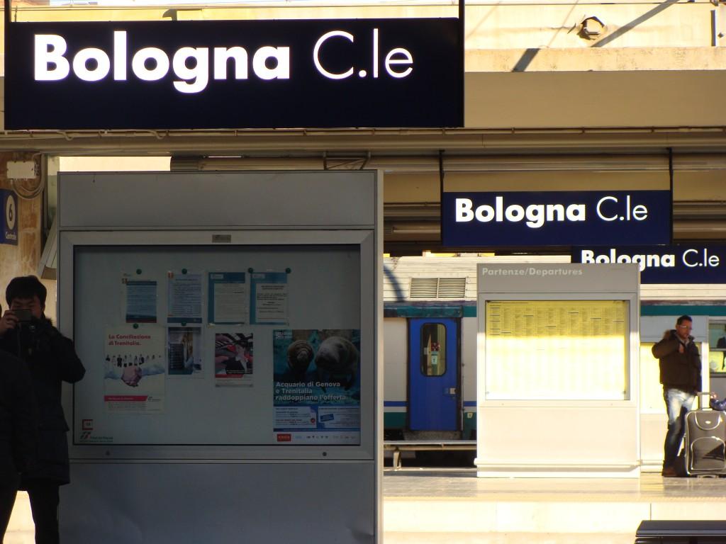 Bolonija prasideda ir baigiasi centrinėje stotyje